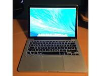 MacBook Pro 13 inch Mid 2014 500GB SSD HD