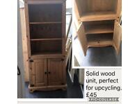 Solid wood corona unit