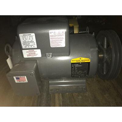 Baldor 5hp Motor W Pully