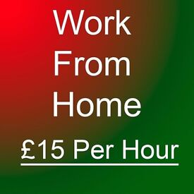 Earn £15+ Hour In Your Spare Time - Work From Home, Immediate Start, No experience & Cash In Hand
