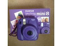 Polaroid Camera Fujifilm Instax Mini 8 - Purple