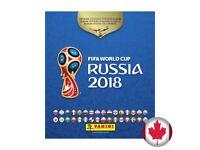 Panini stickers Russia 2018 BONANZA
