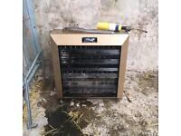 Fan coil heaters