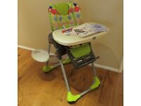 Chicco High Chair - Polly 2 in 1