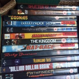 DVD collection (approx. 55 movies)