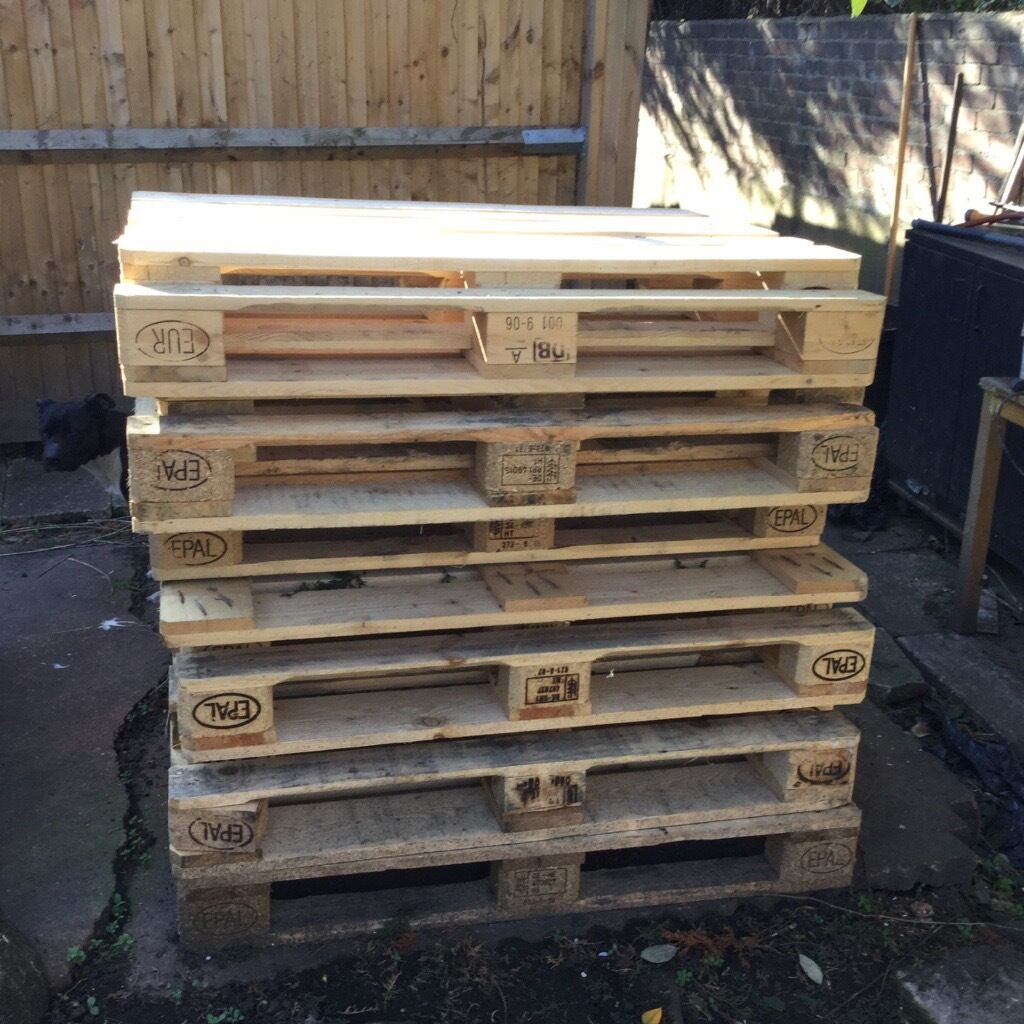 PALLETS INDOORS OUTDOORS GARDEN DIY PROJECTSin Chelsea, LondonGumtree - SELLI NG WOODEN PALLETS EUR/EPAL 1200x1000 £7.50 & STANDARDS 1200x1000 £10.00 PALLETS CUT AND SANDED FOR ADDITIONAL £5.00 IDEAL FOR HOME AND GARDEN USE AND DIY PROJECTS. PICS ARE OF SANDED PALLETS NORMAL PALLETS ARE MORE WORN AND RUSTIC / SHABBY....