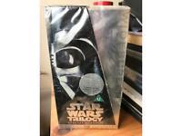 Star Wars Trilogy Videos unopened