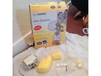 Medela mini electric breast pump plug or baterry portable