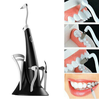 Ultrasonic Oral Clean Teeth Tartar Remover Cleaner Polisher Whitening Tool