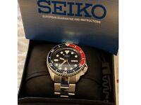 Seiko Pepsi Diver's automatic watch