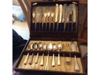 Vintage afternoon tea cutlery set