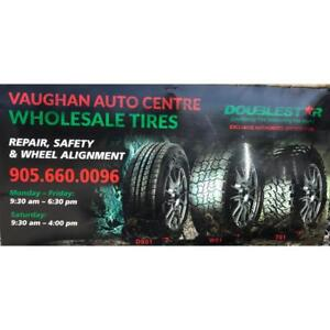** Vaughan Auto Center** (New Tires - Safety -Auto Repair - Wheels alignment - Breaks )  Double Star Tire Wholesale tire