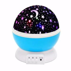 NEW LED STAR MOON KIDS LAMP STAR SKY PROJECTOR STAR