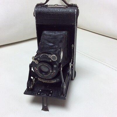 Voigtländer Anastigmat Voigtar 1:7,7 Kamera 1930-er Jahre Klappkamera
