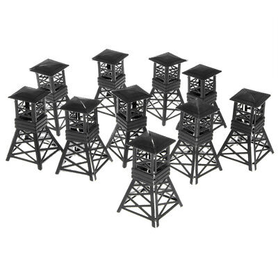 Army Base Set- 10PCS Military Model Toy Soldiers ACCS -Pavilion Whistle