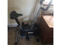 Dynamix exercise bike/cross trainer