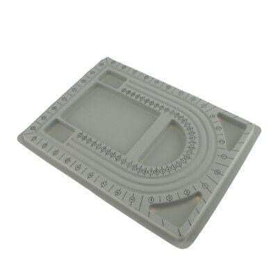 Bead Design in Beading Board und Grey Flock DIY Schmuckherstellung Craft (Bead Design Board)