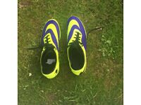Nike hypervenom football boots in size 10 excellent condition