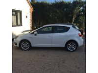2013 seat Ibiza 2ltr FR CR 5dr only 34k miles in stunning white