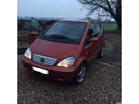 SEMI AUTOMATIC mercedes a class 1.4 5 door with full service history+mot+tax+leathers+DELIVERY