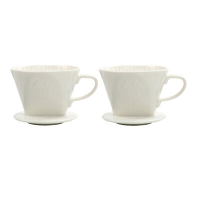 2x Pour Over Coffee Filter Reusable Ceramic Filter for the Best Coffee (Best Reusable Coffee Filter)