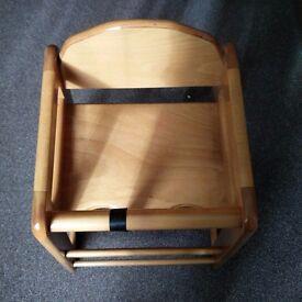 Wooden Baby Feeding Highchair