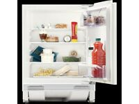 Zanussi ZQA14030DA Built In Fridge, 600mm A+ Energy Rating White less than 2 years old