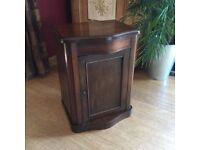 Bedside Washstand Cupboard with lift lid