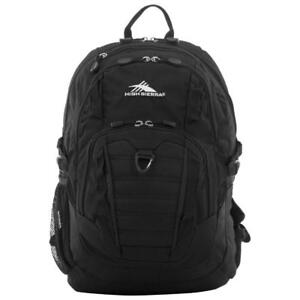 "High Sierra 58416-1041 Ryler 17"" Laptop Day Backpack - Black (New Other)"