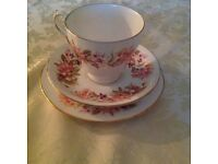 Lovely cup saucer and plate.