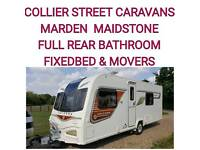 2013 full rear bathroom fixedbed Bailey unicorn valencia s2 + motor movers