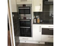 Brand new boxed high gloss kitchen from Wren