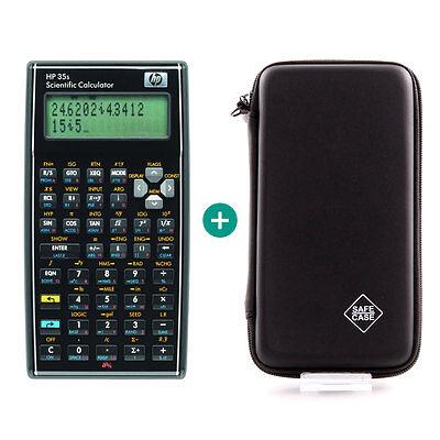 Schutztasche für Taschenrechner von HP für Modell HP 12C