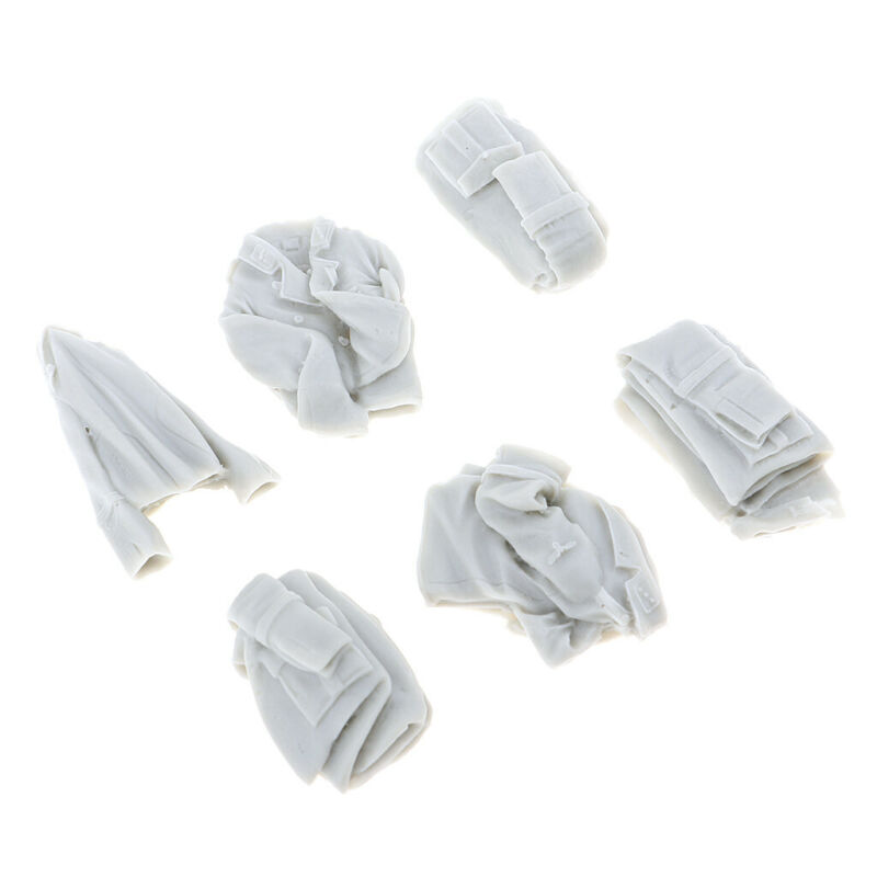 1%2F35+Resin+Scene+Accessories+Models+Clothes+Shoes+Hats+Unpainted+Dioramas