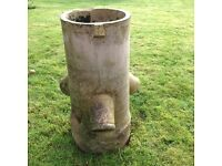 Vintage Victorian chimney pot. Great for planter or pot holder.