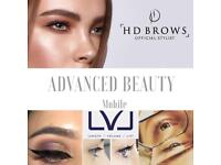 HD Brows & LVL lashes by Advanced Beauty Mobile