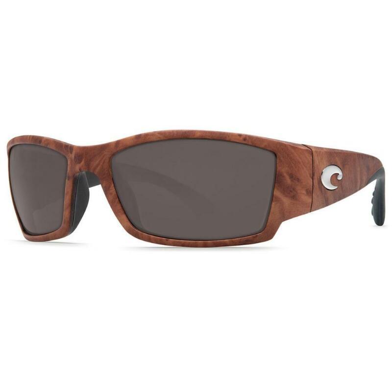 New Costa Del Mar Corbina Polarized Sunglasses 580G Gunstock/Gray Glass Fishing