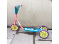 Girls Dora three wheeled scooter £10 ono