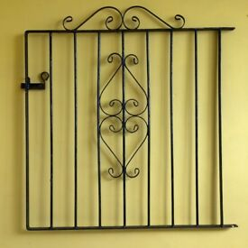 "Garden Gate ""wrought iron"" mild steel metal – side gate"