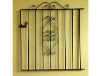 "Garden Gate ""wrought iron"" mild steel metal – side gate"