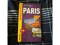 Paris guide book - brand new