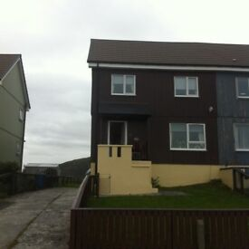 Isle of Harris, Leverburgh. 3 bed Swedish style house for sale. Immaculate walk-in condition.