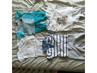 Bundle of boys 3-6 month outfits