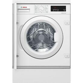 Bosch Serie 6 EcoSilence, 8kg 1400rpm Integrated Washing Machine