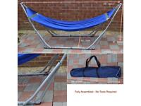 Folding hammock steel frame kit- up to 180kg weight capacity
