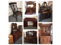 ** SOME ANTIQUE FURNITURE FOR SALE **