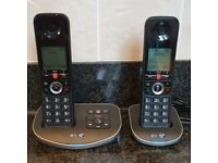 BT Advanced Cordless Home Phone with 100% Nuisance Call Blocking & Answer Machine, Twin Handset