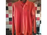 Ralph Lauren genuine lads long-sleeved polo shirt