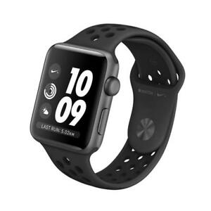 Apple Watch series 4 nike plus edition (GPS Only) 44mm brand new sealed anthracite band in space grey color