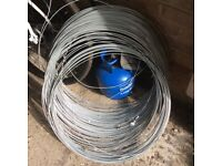 Fencing wire . Steel. 3 mm